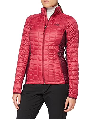 The North Face Giacca Sportiva Thermoball, Donna, Rumba Red/Fig, S