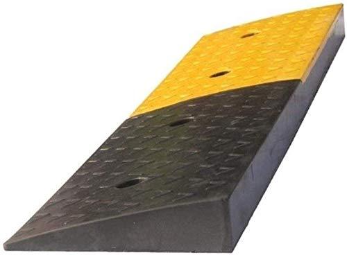 Almohadilla para pendientes Rampas para vehículos, antideslizante Cojín triangular resistente al desgaste Pasos para hospitales Rampas para sillas de ruedas Carrito para scooter Rampas de seguridad 3-