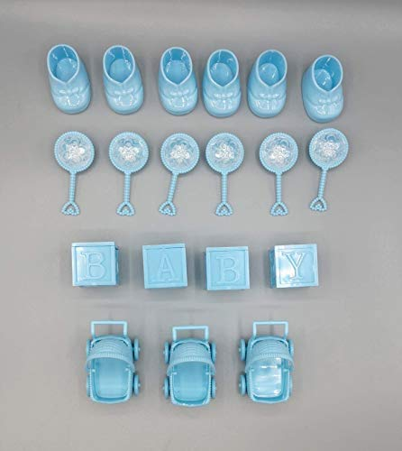 Boy Baby Shower Decorative accents, great for centerpieces, cake toppers and more! (BLUE ONLY)