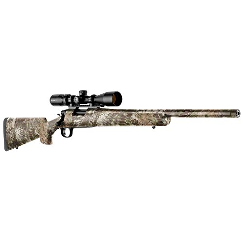 GunSkins Rifle Skin - Premium Vinyl Gun Wrap with Precut Pieces - Easy to Install and Fits Any Rifle - 100% Waterproof Non-Reflective Matte Finish - Made in USA - Kryptek Highlander