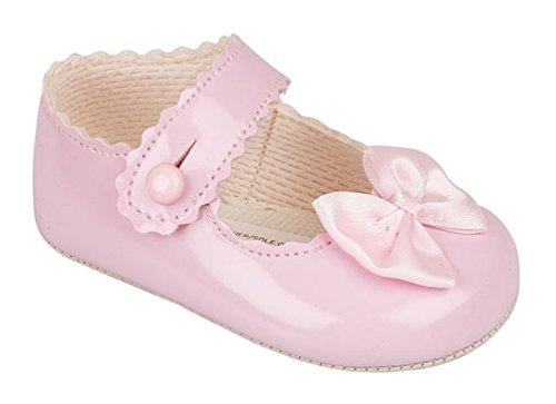 Baby Pram Schuhe für eine Hochzeit, Taufe oder Partei - Tupfenbogen