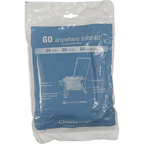 Go Anywhere Toilet Kit 12-pack