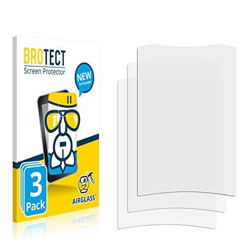 3X BROTECT AirGlass Premium Glasfolie für Crivit Fahrradcomputer (extrahart, ultradünn, hochtranzparent, Anti-Fingerprint, flexibel)