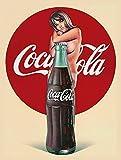 NOT Coca Cola Girl Interessante Poster Einzigartige