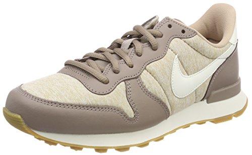 Nike Damen Internationalist Laufschuhe, Mehrfarbig (Sepia Stone/Sail-San 203), 38.5 EU