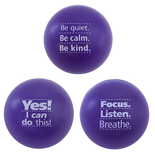 Teacher Peach Stress Balls for Kids or Adults Stress Ball Pack for Anxiety & ADHD Toys