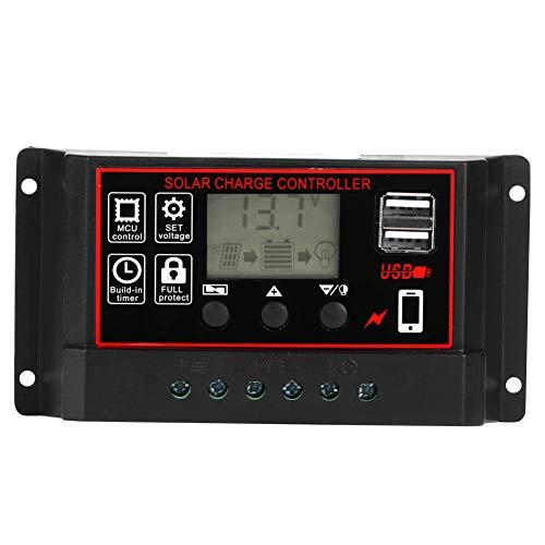 Regler, Solarenergieregler, Photovoltaik-Messgerät 60A Gewerbliche Nutzung für den Innenhof im Freien