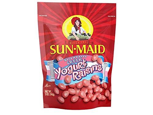 Sun-Maid Strawberry Greek Yogurt Raisins 5 Oz (Pack of 1)