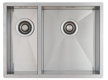 Evier de cuisine en inox Mizzo Design Quadro 18-34 Affleurant / Sous...