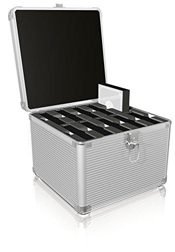 ICY BOX IB-AC628 Funda para Disco Duro Externo Suitcase Case Aluminio Plata - Fundas para Discos Duros externos (Suitcase Case, Aluminio, Plata, 2.5,3.5', 240 mm, 200 mm)
