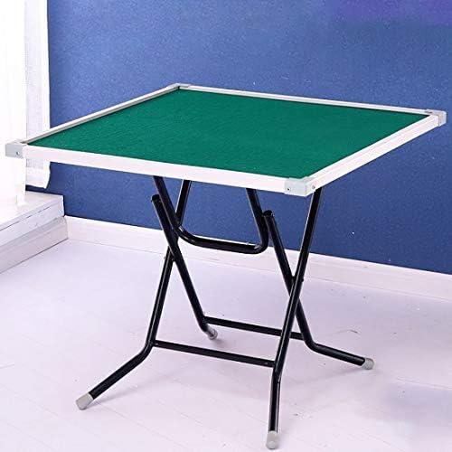NuoEn Mahjong-Tisch, Poker, Kartenspiele, Brettspiele, Kachelspiele, Domino, Pokertisch aus Holz (Farbe   80cm PVC 1)