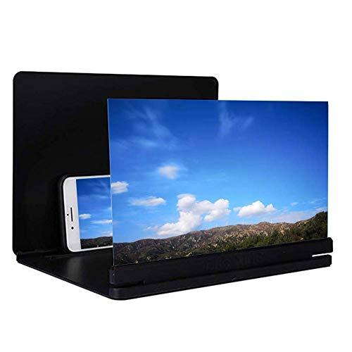 Magnifier, 3D-Phone Screen Magnifier, HD stereoscopische mobiele telefoon screen versterker, film videoscherm vergroting voor alle smartphones, verstelbaar telefoonscherm voor kinderen en senioren