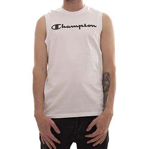 Champion Sleeveless Crewneck T-Shirt L