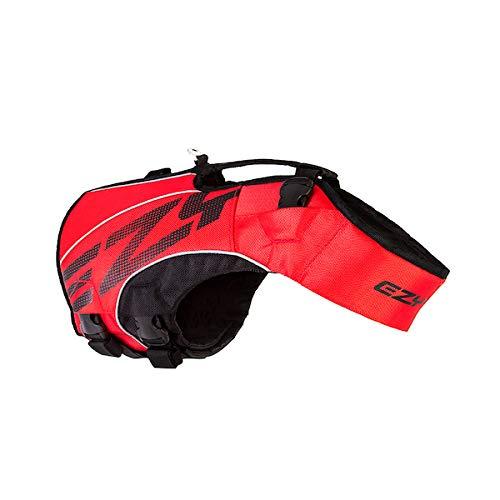 EzyDog X2 Boost-Schwimmweste für Hunde, Größe M, Rot