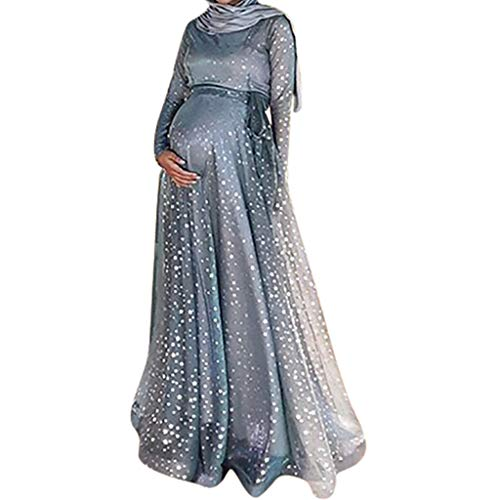 Vestido Largo Mujer Palabra de Longitud Vestido Slim Fit...
