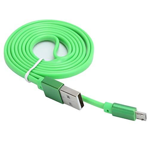 ASHATA Cable Micro USB, Cable de Carga rápida de 1m / 3.3ft 2.1A, Cable de Cargador USB Universal Cable de Datos TPE para teléfono Android
