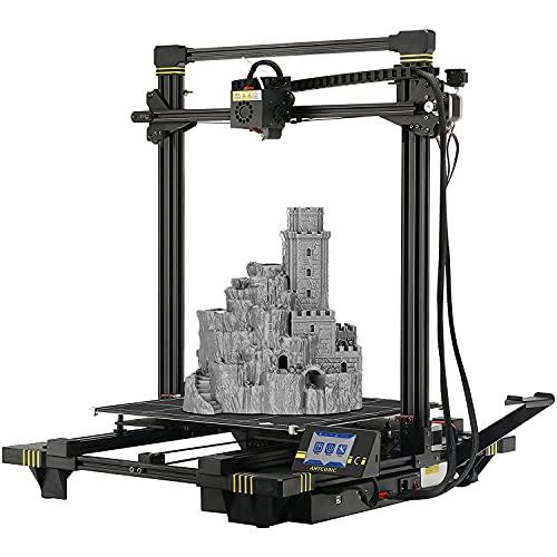 Stampante 3D ANYCUBIC , stampante FDM grande con piano riscaldato Ultrabase, adatta per PLA a filamento da 1,75 mm, dimensioni di stampa 400 x 400 x 450 mm