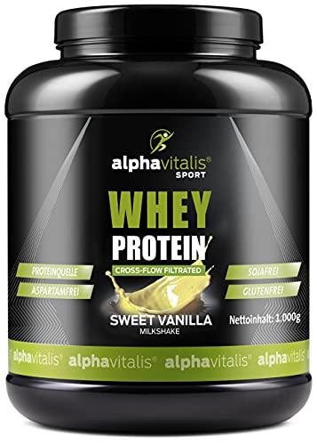 Whey Protein Pulver - Eiweißpulver für...