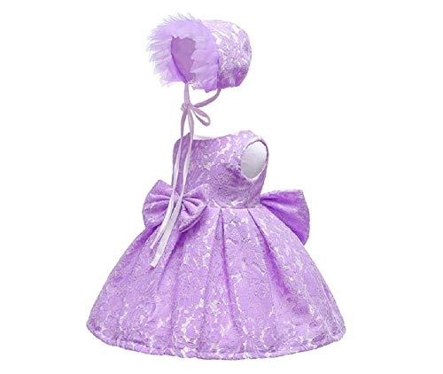GIO276 Vestido Bautizo Boda Fiesta Cumpleaños Elegante Vestido Princesa para Bebé Ceremonia...