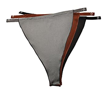 Cleavage Cover Original Snappy Cami  828  - Classic NO LACE  Solid  - Set of 3 [Black Gray and Brown]