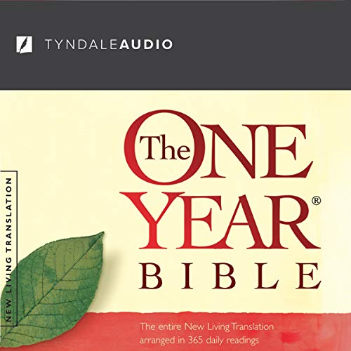 The One Year Bible NLT Audiobook By Tyndale House Publishers cover art