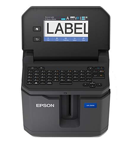 "LABELWORKS LW-Z5010PX-B Industrial Label Maker and Bonus Bulk 1"" Black on White Vinyl Tape - Complete Printer Kit with Accessories, Bulk Label Roll B224VTBWPX, Desktop Label Printer Photo #6"