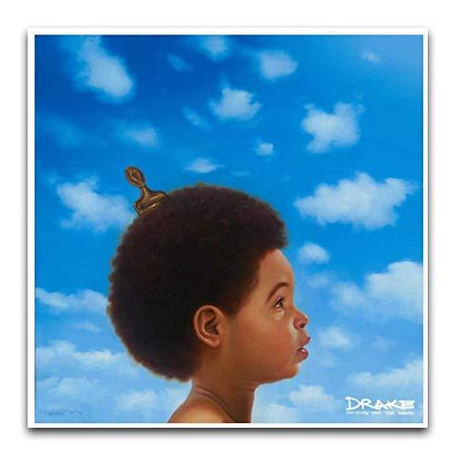 Aubrey Drake Graham's Album 0 Art Wall Canvas, Modern Art Wall Decor Quadri, Quadro da parete senza cornice per poster su tela e arte da parete Stampa Moderna Famiglia Camera da letto Decor Poster 12