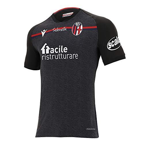 Macron Herren Bfc M20 Maglia Gara Third Mm Sr Trikot Bologna FC 2020/21, Schwarz, XXL