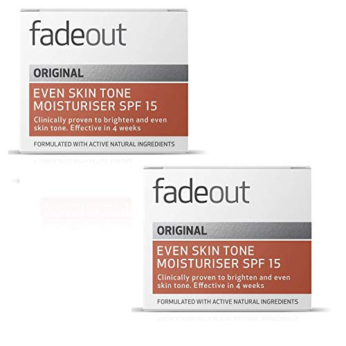 Fade Out Whitening Moisturiser Cream with SPF 15, 50ml (Pack of 2)