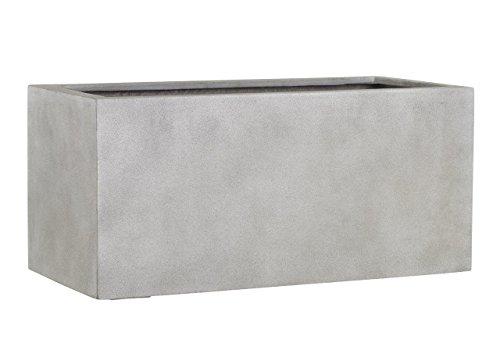 Esteras 8519715797 Naturelite Gillingham 97 Warm Concrete rectangular planter, 97 x 47 x 47 cm, 200 litres