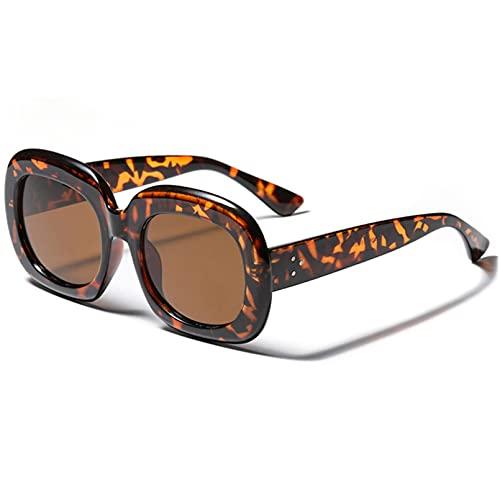 LUOXUEFEI Gafas De Sol Gafas De Sol Cuadradas Naranjas Gafas De Sol Redondas Para Mujer Gafas De Viaje Negro Primavera