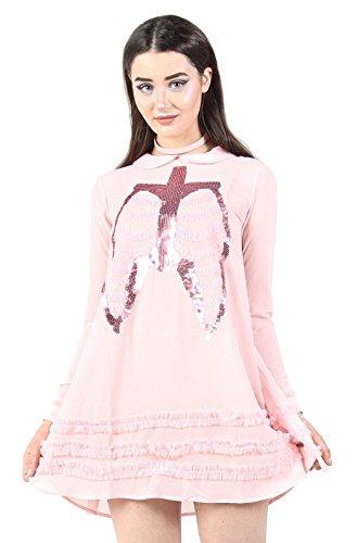 Totes Meerjungfrau-Kleid (Rosa) Gr. Small, rose