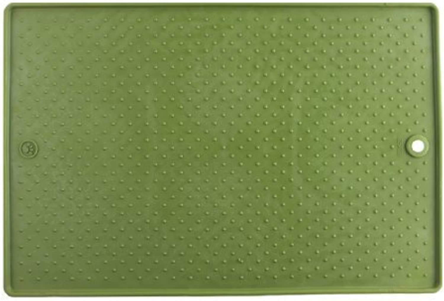 Dexas Grippmat for Pets, Green by Coast2Coast Wholesale Pet Products