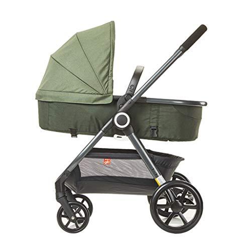Carrito de bebe Cochecito de niño recién nacido cochecito infantil de lujo convertible plegable (para recién nacidos) Cochecito/Silla Paseo