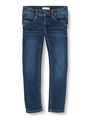 NAME IT Jungen NMMRYAN DNMCART Pant Camp Jeans, Medium Blue Denim, 92