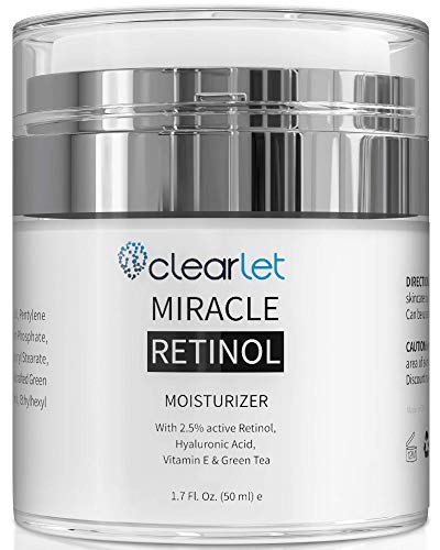 41g0cukUlPL - Retinol Cream for Face Moisturizer for Women Men Anti Aging Face Wrinkle Cream Retinol Facial Eye Cream Reduces wrinkles Fine Lines Day Night Facial Creams Retinoid Mens Retinol Moisturizer for Face