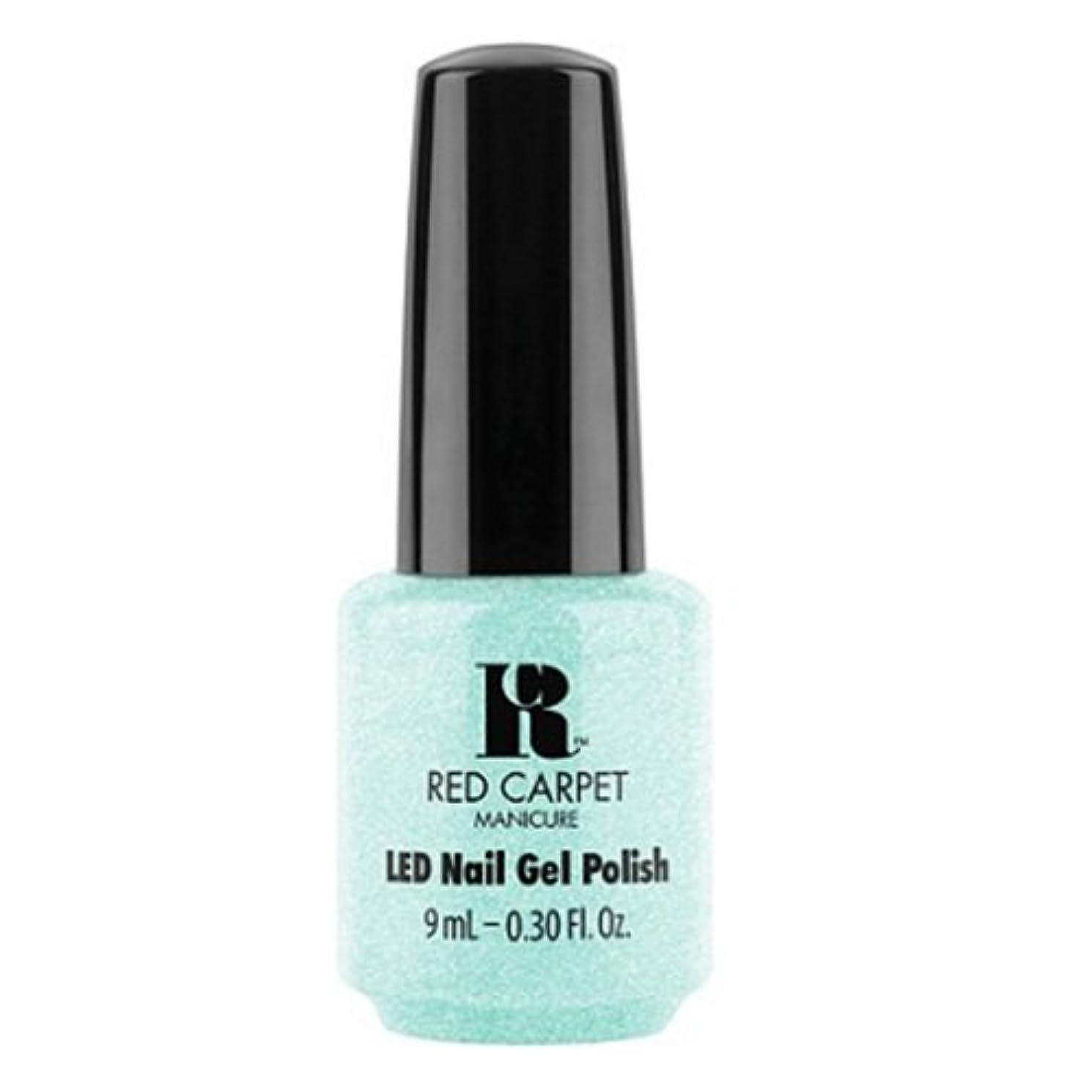 プレフィックスエクスタシー区Red Carpet Manicure - LED Nail Gel Polish - Countdown to Fab - 0.3oz / 9ml