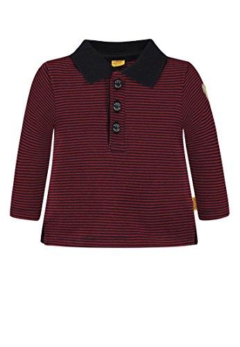 Steiff Steiff Baby-Jungen 1/1 Arm Poloshirt, Mehrfarbig (Y/d Stripe|Multicolored 0001), 68