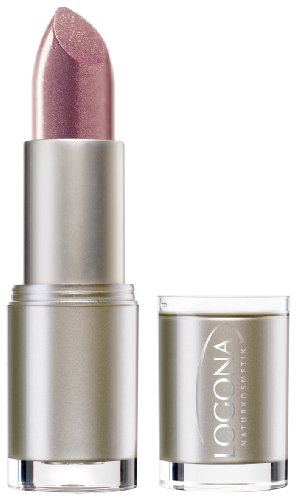 LOGONA Naturkosmetik Lipstick No. 07 Wildberry, Natural Make-up, Lippenstift, zart pflegend und...