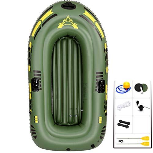 YUESFZ Kayaks y piraguas de mar Kayaks Hinchables Barco De Pesca Especial En El Mar, Bote De Remos para Piscina Al Aire Libre, Canoa De Seguridad con Cámara De Aire Independiente