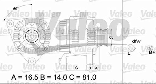 Valeo 437359-VAL 437359 Lichtmaschinen