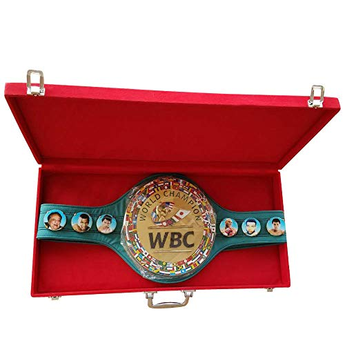 WBC Boxing Champion Ships Belt 3D Adult Championship Belts with Box/case
