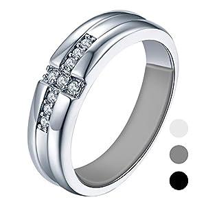likimar Ring Größenverstellung für lose Ringe 54 3Pcs unsichtbar Ringmaß für breite Ringe