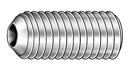 12mm A2 Stainless Steel Socket Set Screw Max 69% Sale OFF PK50 Finish; with Plain