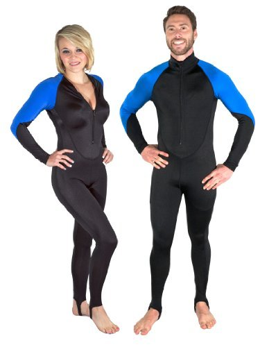 Storm Accessories Storm Black/Blue Lycra Dive Skin - Small by