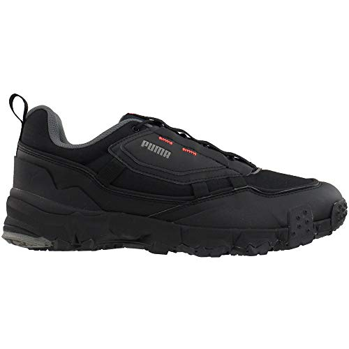 PUMA Mens Trailfox Overland MTS Grid Running Sneakers Shoes - Black - Size 9 D