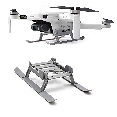 MotuTech - Carrello di atterraggio pieghevole per DJI Mavic Mini 2 / Mavic Mini Drone Protezione Landing Gear