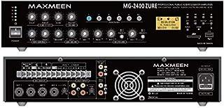 Maxmeen 5 Zones Mixer Amplifier with Echo/USB/SD 240W, MG-2400ZURE