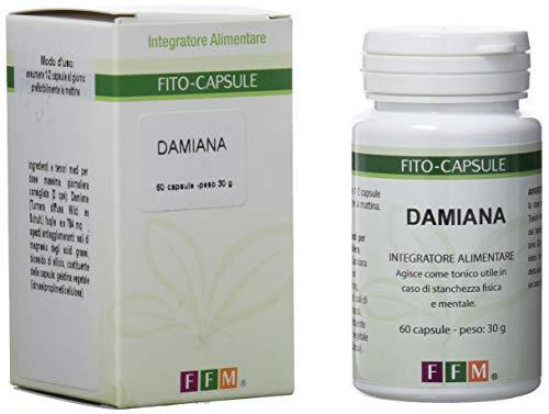 Fitofarmaceutica Damiana - 60 Capsule Gelatina Vegetale