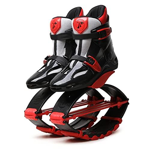 YLJXXY Mujer Hombre Zapatos de Rebote Adulto Antigravedad Salto Botas Rango de Carga de Peso 50-110 kg Fitness Jump Bounce Shoes